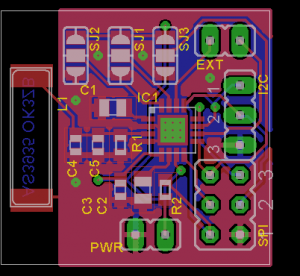 Franklin Lighting Sensor - pcb