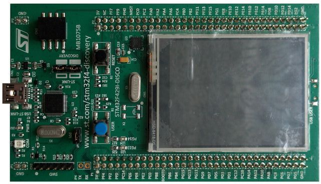 STM32F4 Discovery kit - front