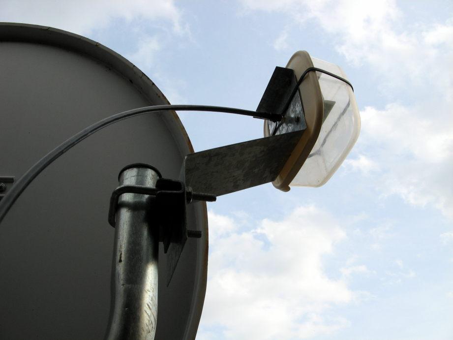 WiFi 5 GHz - anténa na výložníku 2