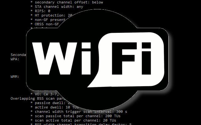 WiFi z prikazoveho radku GNU/Linux
